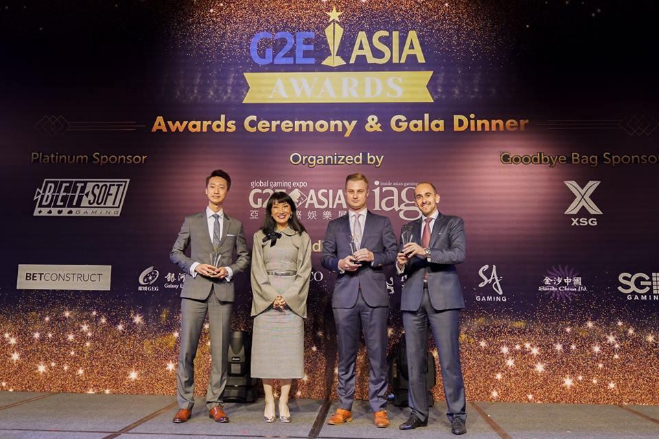 G2E Asia Award Winners