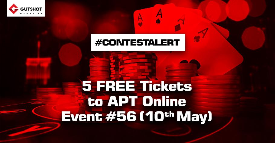 Win FREE tickets worth $500 to APT Online!