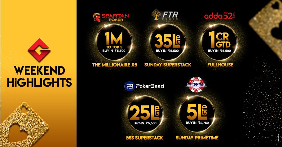 Weekend Highlights: Five Massive Value Tournaments You Must Play!