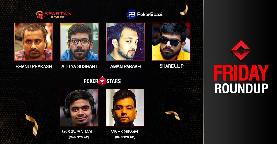 Friday Roundup: Aditya Sushant takes down The Elite!