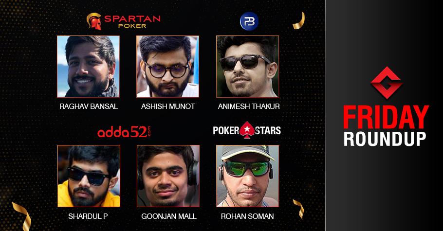 Thursday Roundup: Bansal, Munot, Thakur, Shardul, Mall, Soman ship events!