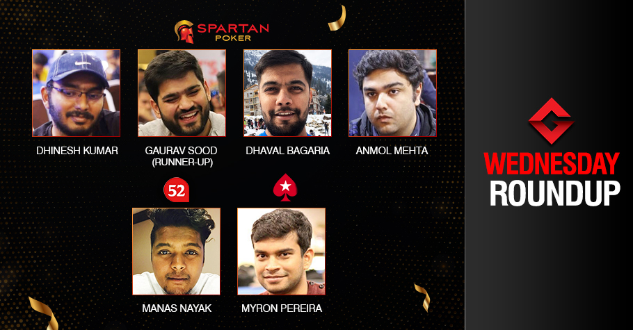 Wednesday Roundup: Kumar, Bagaria, Mehta, Nayak, Pereira ship events!