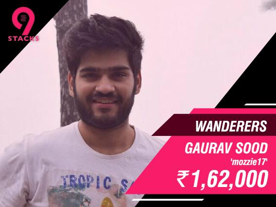 Gaurav Sood claims 9stacks Wanderers victory