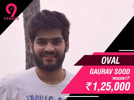 Gaurav Sood ships Oval on 9stacks
