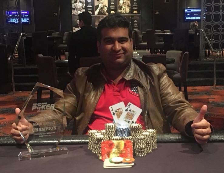 Gautam Dhingra wins Melbourne Poker Championship ME