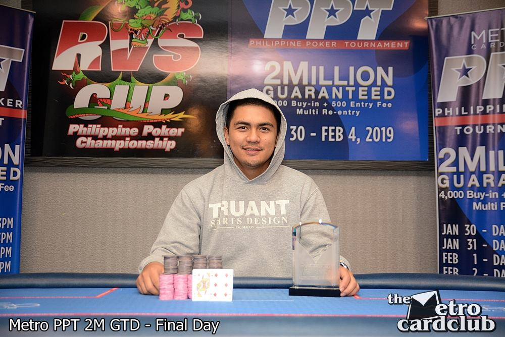 Gideon Galpo wins Philippine Poker Tournament ME