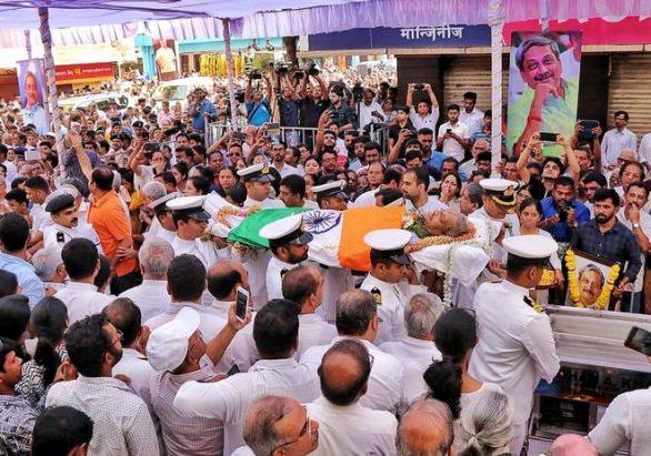 Goa CM Manohar Parrikar passes away yesterday