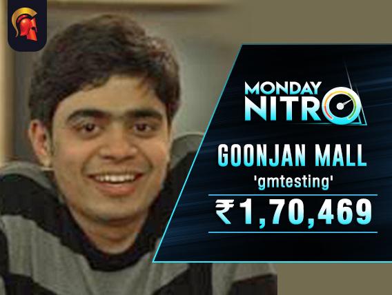 Goonjan Mall takes down Spartan Monday Nitro