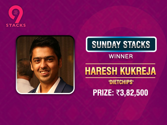 Haresh Kukreja bags Sunday Stacks title