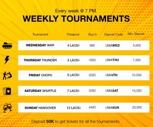 Heres a primer on UMA Pokers weekly tournaments_2