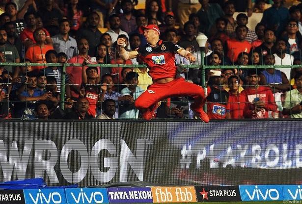 IPL 2018 Superman ABD takes RCB one step closer