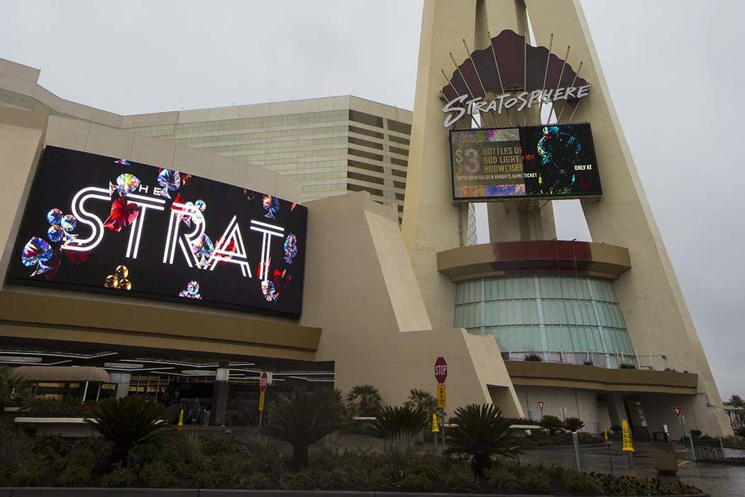 Iconic Vegas casino Stratosphere becomes The STRAT