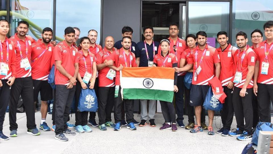 India Finish 3rd at 2018 Commonwealth Games