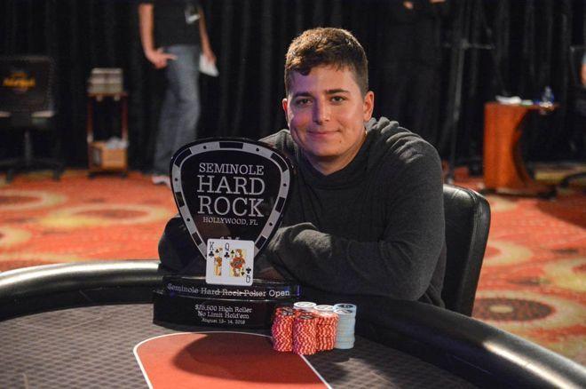 Jake Schindler wins SHRPO High Roller title