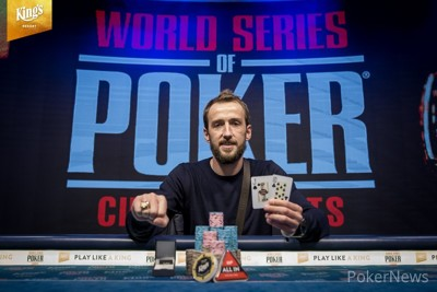 Jakub Oliva wins WSOP International Circuit Main Event