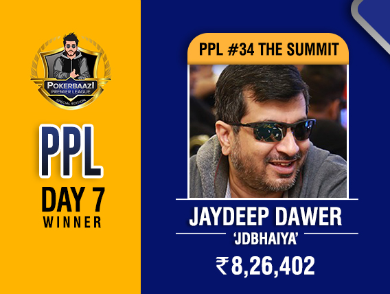Jaydeep Dawer takes down Summit on PPL Day 7