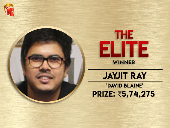 Jayjit Ray wins The Elite on Spartan