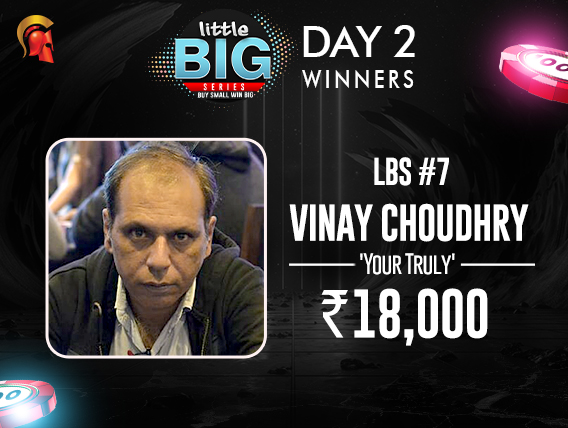 LBS Day 2 Vinay Choudhry among winners on Spartan