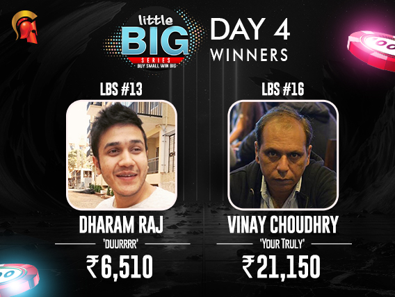 LBS Day 4: Choudhry scores double; Dharam Raj wins event #13