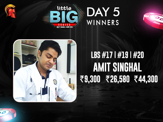 LBS Day 5: Amit Singhal wins 3 titles on Spartan
