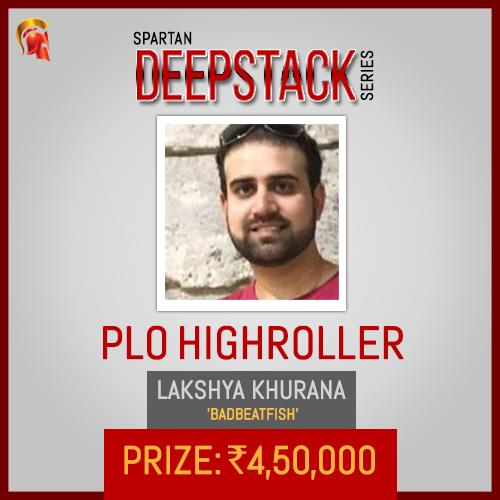 Lakshya Khurana Deepstack Winner