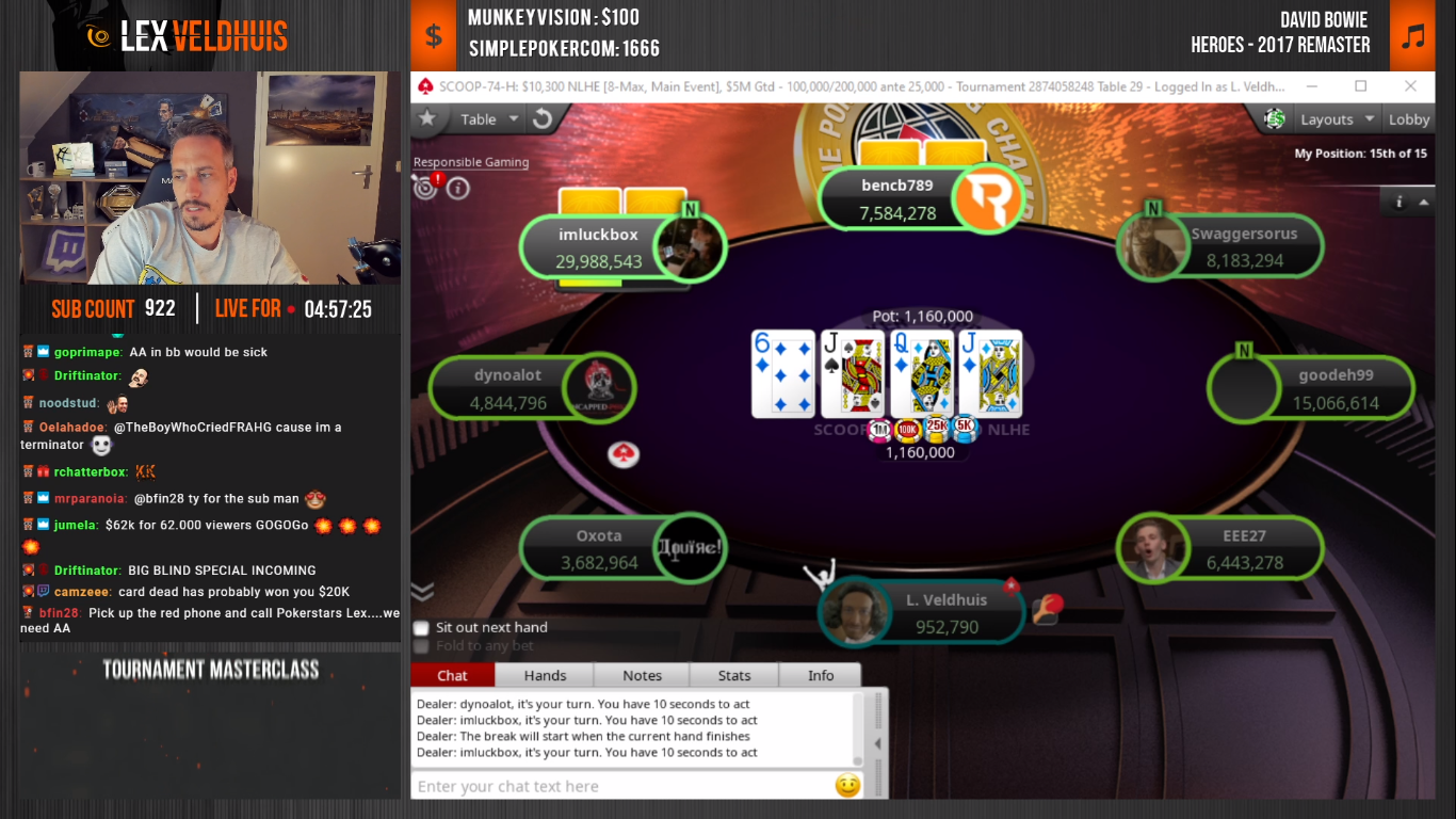 Lex Veldhuis smashes Twitch Viewership Record during SCOOP ME