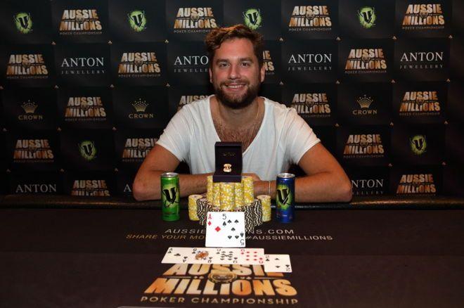 Liberto, Lybaert and Hockin win Aussie Millions side events
