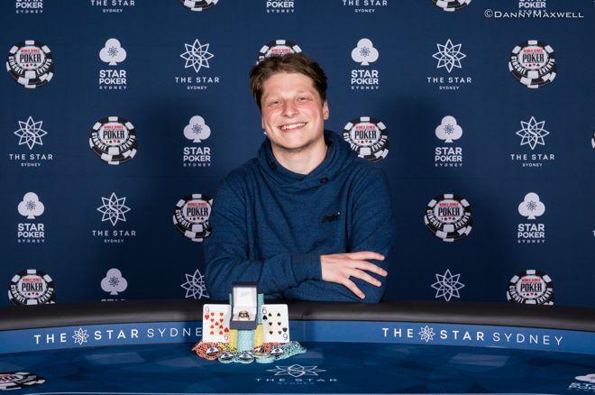 Luke Martinelli wins WSOPC Sydney High Roller