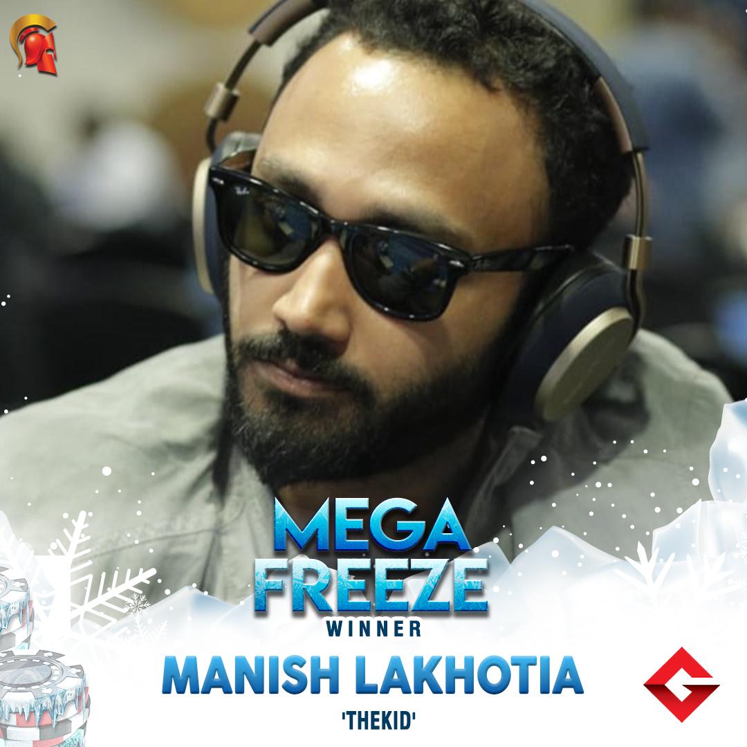 Manish Lakhotia takes down Mega Freeze on Spartan