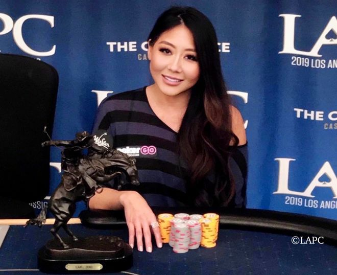 Maria Ho wins 2019 LA Poker Classic $25k High Roller