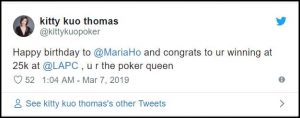 Maria Ho wins 2019 LA Poker Classic $25k High Roller_2