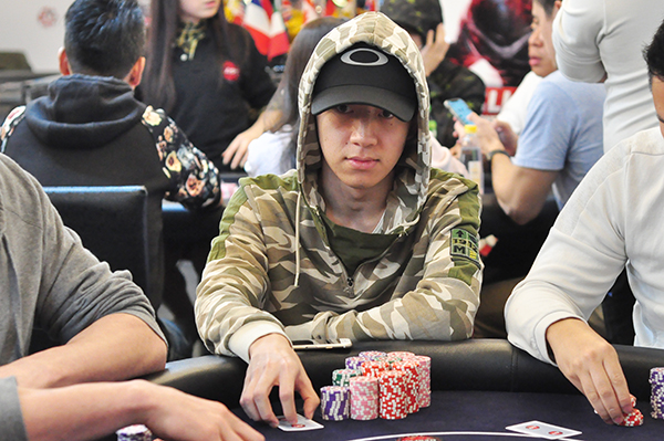 Mark Reyes leads APT Taiwan Championships Event Day 1A