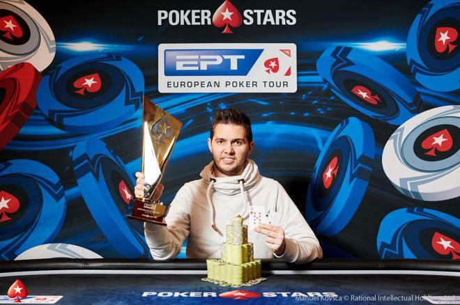 Matthias Eibinger victorious in EPT Prague Super High Roller