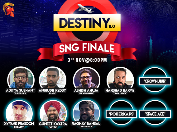 Meet the Destiny 11.0 SnG Finalists