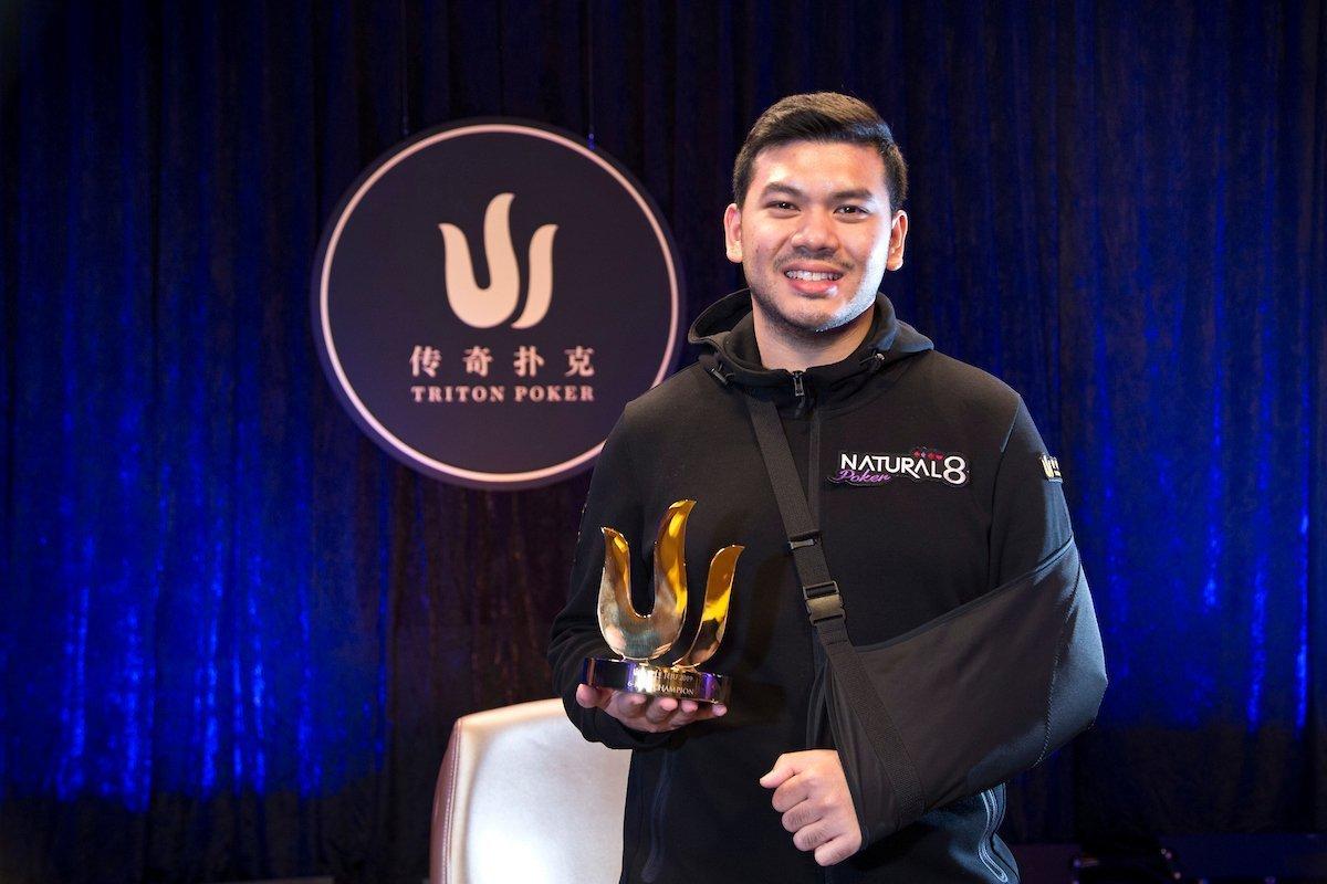 Michael Soyza wins 3rd event in 2019 Triton Jeju
