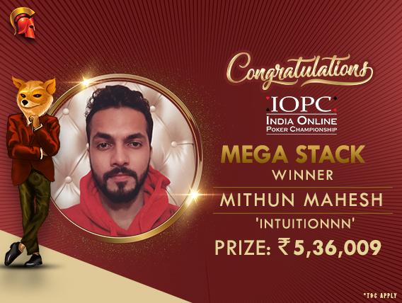 Mithun Mahesh ships IOPC Mega Stack on Spartan