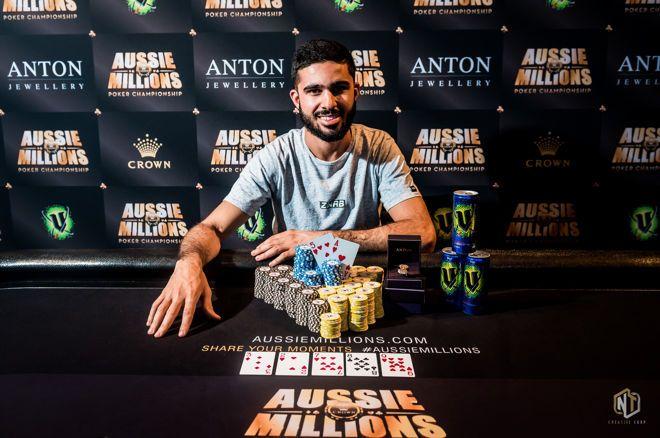 Muhammad Asad ships 2019 Aussie Millions Opening Event.jp