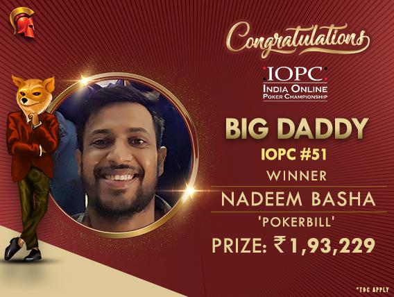 Nadeem Basha bags Big Daddy title on IOPC Final Day