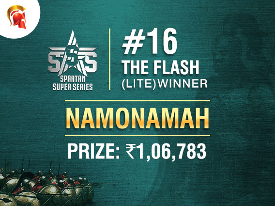 'Namonamah' wins SSS Flash (Lite) title on Spartan