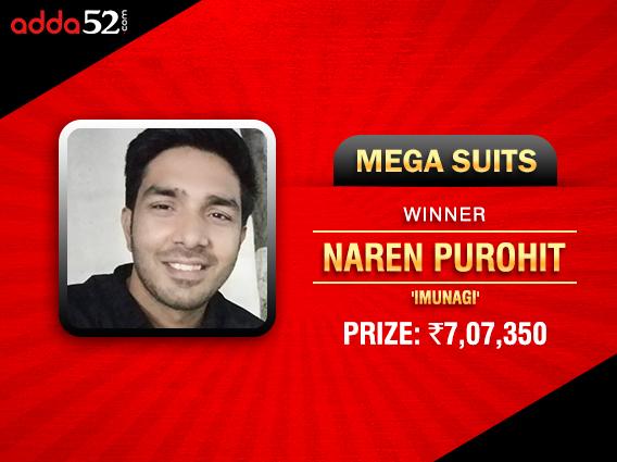 Naren Purohit ships Adda52's Mega Suits
