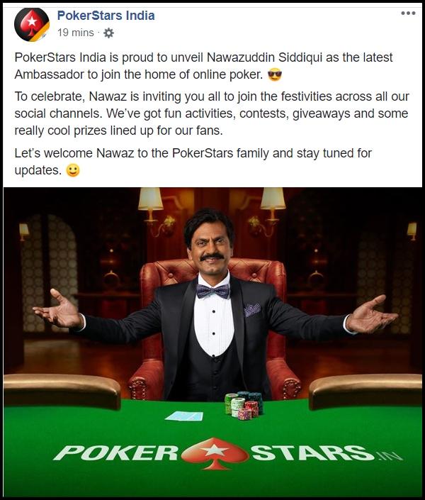 Nawazuddin Siddiqui now ambassador of PokerStars India_2