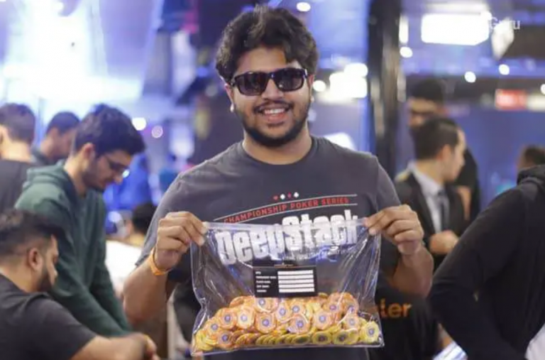 Neel Joshi leads Day 1C of the BPT Main Event