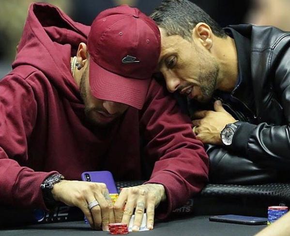 Neymar Jr Plays Online Poker as PSG Clinch Title
