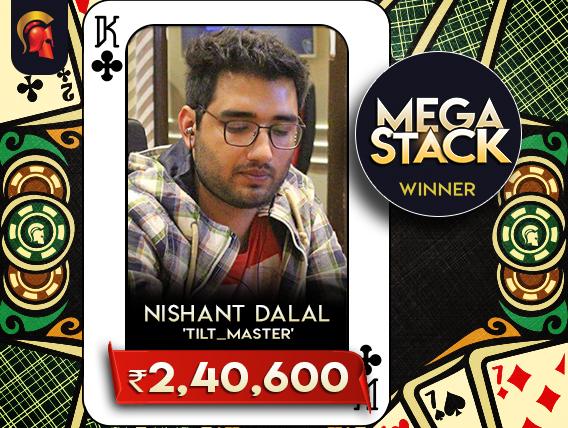 Nishant Dalal vanquishes Spartan Mega Stack