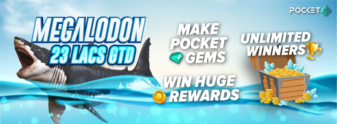 On a Table Full of Sharks, Be the Biggest One - Megalodon