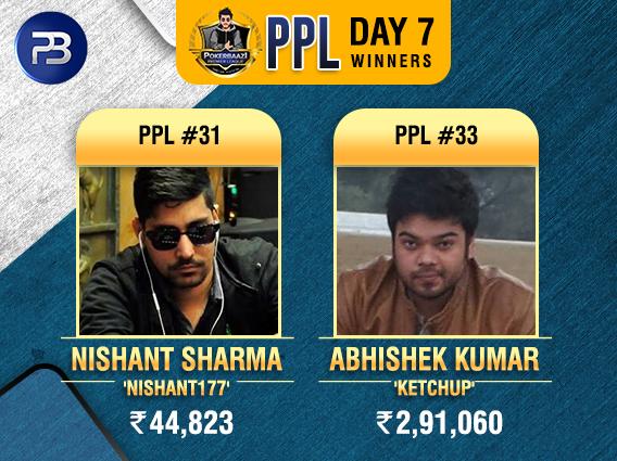 PPL SE Day 7 Yadav, Sharma, Jain, Kumar win titles