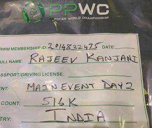 PPWC ME Rajeev Kanjani lone Indian to make Day 3_4