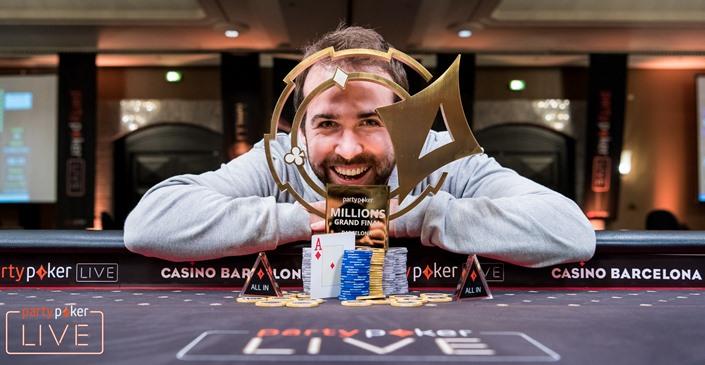 Pascal Lefrancois Wins Live MILLIONS Grand Final ME
