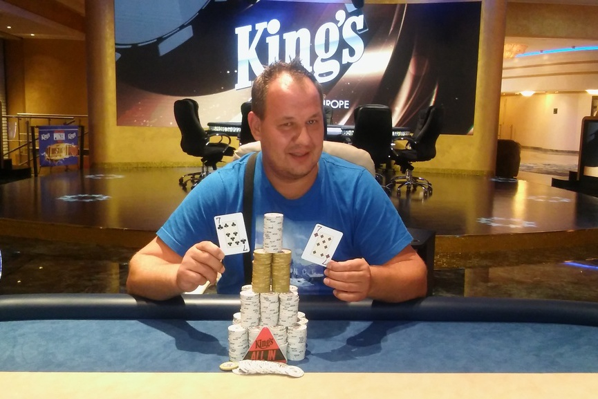 Petr Hora wins The Indian Poker Series Welcome Event