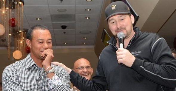 Phil Hellmuth will host Tiger Woods' 8th annual poker night